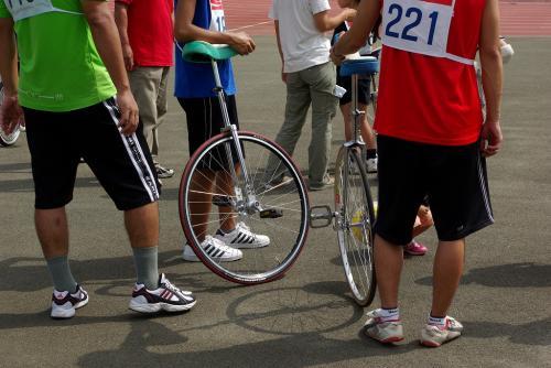 大人の一輪車