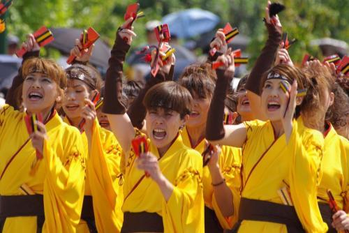 2008 鎌ヶ谷 よさこい 黄手