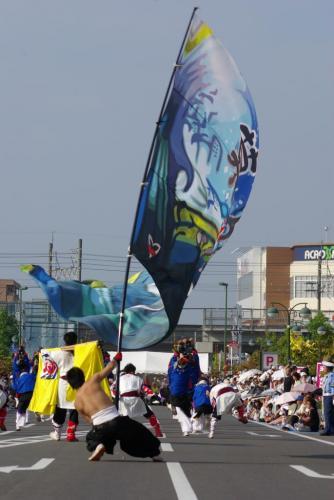 2008 鎌ヶ谷 よさこい 旗2
