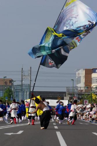 2008 鎌ヶ谷 よさこい 旗3