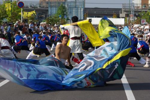2008 鎌ヶ谷 よさこい 旗4