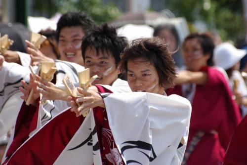 2008 鎌ヶ谷 よさこい 斜め