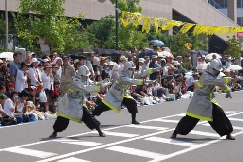 2008 鎌ヶ谷 よさこい 消防2
