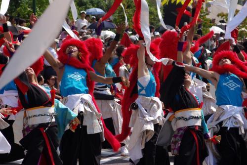 2008 鎌ヶ谷 よさこい 赤