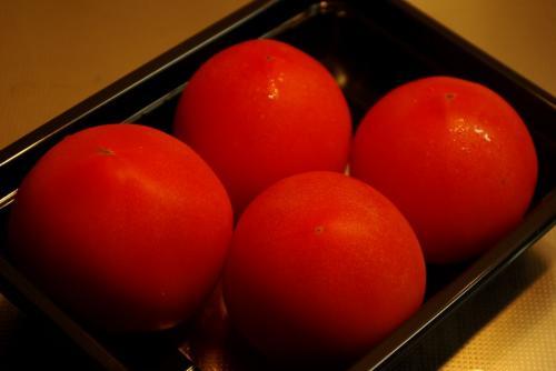 綺麗なトマトです