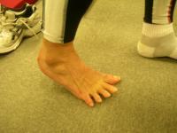 歩く時の足指の動き(1)