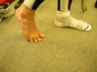 歩く時の足指の動き(2)