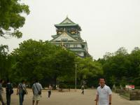 大阪城とH氏