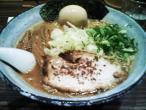 醤油ラーメン+味付け玉子@麺屋 利休