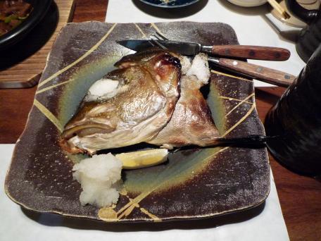 居酒屋メニュー(お魚のかま)20080907