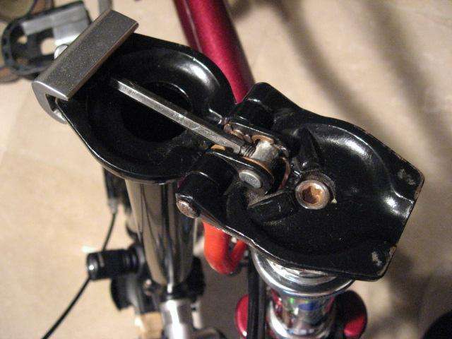 自転車ヘッド部のメンテナンス ...