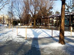 2月2日の中庭