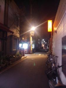 三ノ輪通り繁栄会 by night.