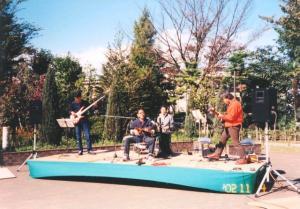 立川国際芸術祭2002にて