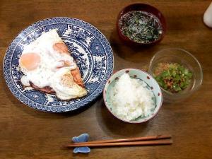5月27日の朝御飯