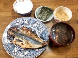 7月3日の晩飯