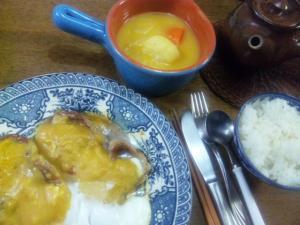 2010年10月11日の晩飯
