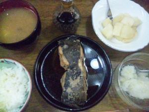 鰈の煮付定食
