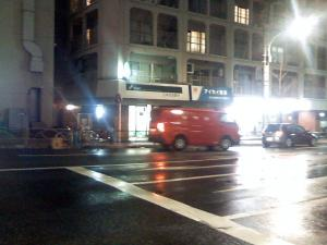20:42の郵便車
