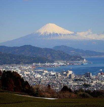 日本平から富士山-4