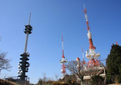日本平から富士山-5