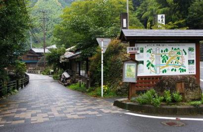 宇津ノ谷の集落に行く-1