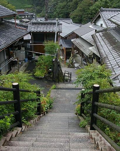 宇津ノ谷の集落に行く-4