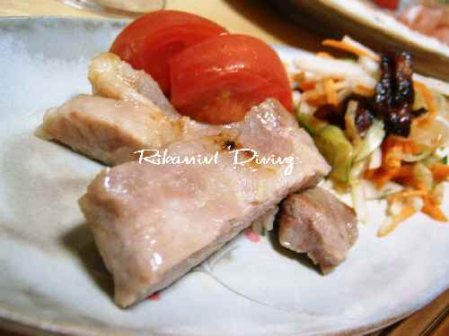 DSCF9・4豚の味噌漬け焼き