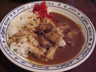 豚角煮カレー