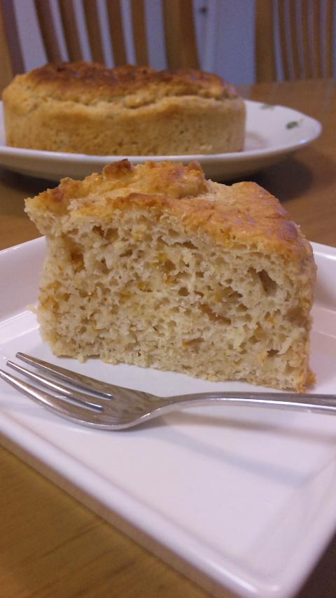 柚子と白みそのケーキ