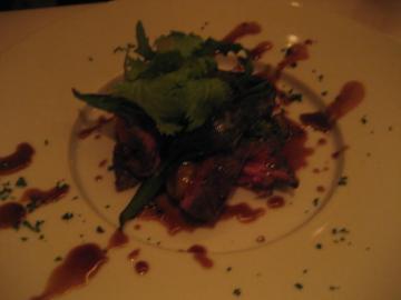 和牛ランプ肉のロースト