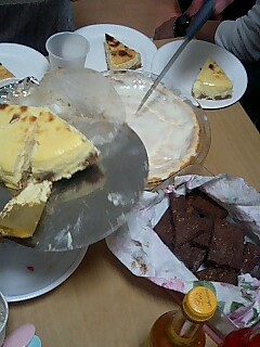 ジンギスカンパーティ ケーキ