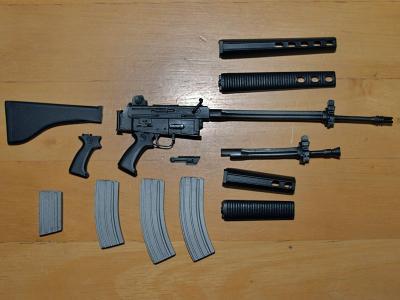 AR18の作り方 下塗り状態