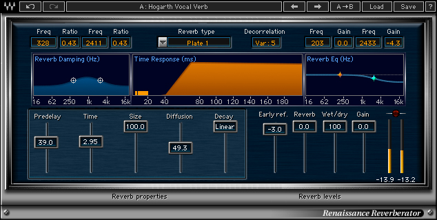 Waves Renaissance Reverb