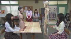 愚痴部 人体模型と骨格模型