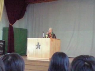 熊谷行子先生の挨拶