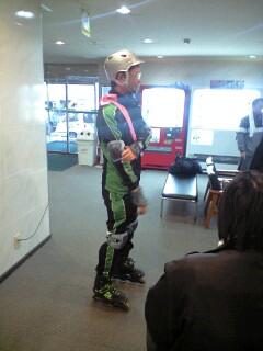 花巻のローラースケーター