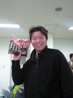 表彰式!中村アニキ大活躍