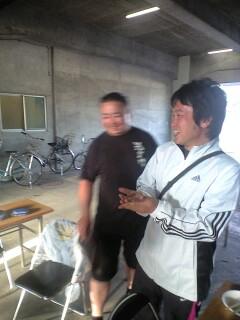 2010久慈JCの理事長と専務
