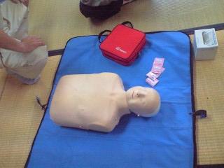 AEDとお人形