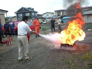 火の勢いが・・・