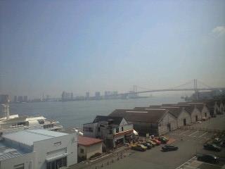 日の出桟橋からお台場方面