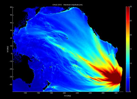 津波の高さ(エネルギー)予想