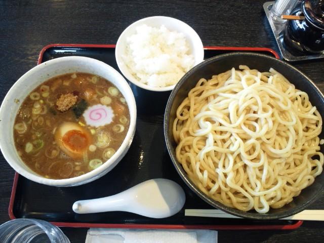 はつがいのつけ麺(大)
