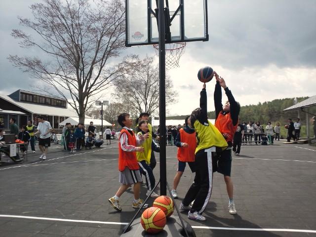 3on3バスケinひろのおおのデザインセンター1
