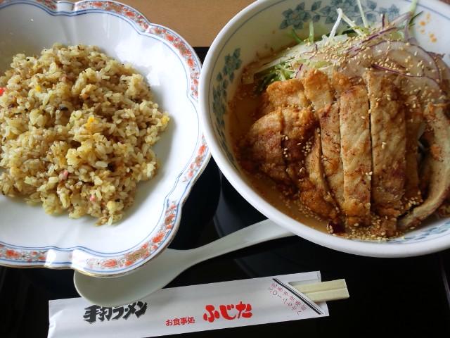 ふじたのパークゥー麺とチャーハン