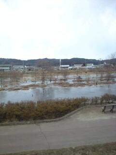 久慈川逆流の瞬間