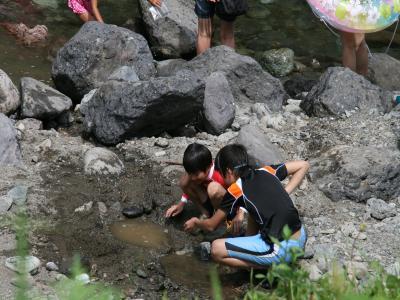 川遊びへ(4)