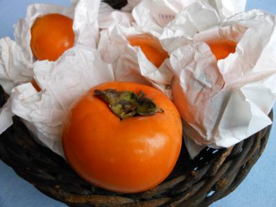 父が育てた柿