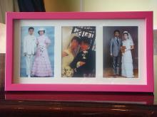 両親結婚写真3組